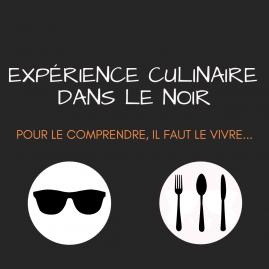 Cartes cadeaux - Soirée 3h - Expérience culinaire dans le noir
