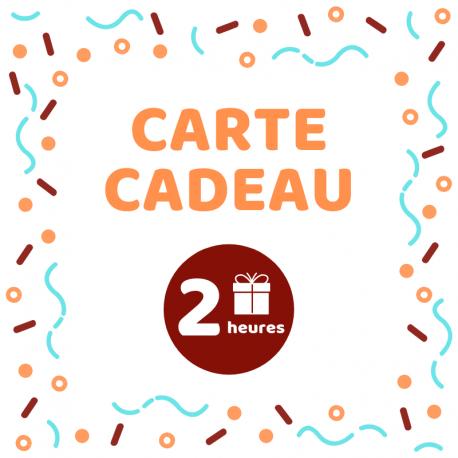 Carte cadeau - Atelier 2h
