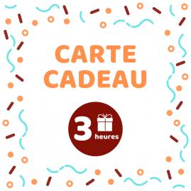 Carte cadeau - Atelier 3h