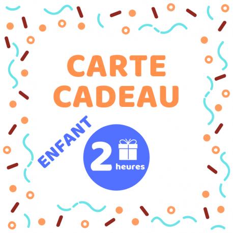 Carte cadeau - Atelier enfant 2h