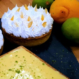 TARTES AU CITRON EN 2 VERSIONS